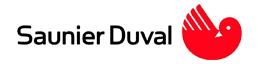 Pièce de rechange pour chaudière saunier-duval