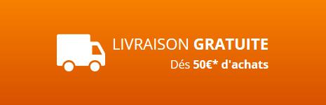 Livraison grauite dès 50€ d'achat de pièces détachées pour chaudière
