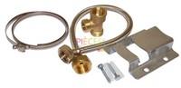 Ce Kit de montage pour Vase d Expansion  ECS comprend: 1 Support1 Flexible1 Té de dérivation - Référence :