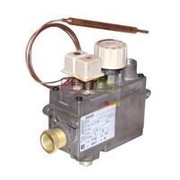 Bloc Combustioniné 0.710.162 - AUER : B1238357, 1 Bouton Thermostatique à bulbe sans régulateur, Pression  entrée 50 mBars, Particularité: sans piezo - Référence :