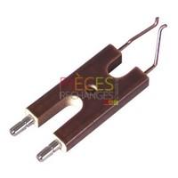 Électrode spécifique - NC6 Fioul - (1 pièce) - CUENOD : 13011119 - Référence :