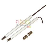 Électrode Gas WG30 (2 pièces) - WEISHAUPT : 1311011413/7 - Référence :