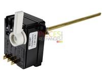 Thermostat à Canne TAS TF 450 réf 691569. Modèle à plonge triphasé NF pour chauffe-eau à Thermoplongeur monté Verticalement (levier blanc) Diamètre 6mm x 450mm Régulation tripolaireRéglage: 20/80°C Sécurité: 87°C - Référence :