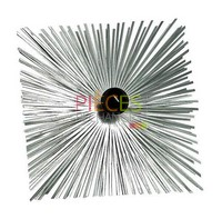 Herisson Acier carré 300x300mm  12x175 F avec boule - Référence :