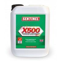 Sentinel X500: est un antigel et inhibiteur polyvalent destiné à la Protection  Contre le gel, la corrosion, l'entartrage et la prolifération  bactérienne dans les installations de Chauffage y compris celles comportant des émetteurs en aluminium. Bidonde 5L. (existe en bidonde 20L) - Référence :