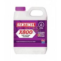 Sentinel X800 JETFLO: Il élimline les dépôts de magnétite et de calcaire des Corps de chauffe, radiateurs et Circuits. Il agit en profondeur comme un agent dispersant dans des conditions de pH neutre. Respecte l'environnement. Bidon de 1L - Référence :