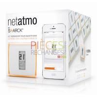 Le thermostat Netatmo n'est pas un gadget de plus à venir prendre place au sein de votre intérieur. Avec lui, vous allez pouvoir gérer en toute simplicité et avec précision le chauffage dans votre maison. Surtout vous allez pouvoir le faire depuis votre smartphone, votre tablette ou votre ordinateur, que vous soyez simplement dans votre lit ou à l'autre bout du monde ! Goûtez aux joies et aux nombreux avantages d'un thermostat programmable chez vous, tout en profitant de son design moderne et élégant signé de la main de Starck. - Référence :