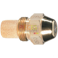 Gicleur DELAVAN TYPE B 0,50 G 45° : Cône plein uniforme, Ce type de Gicleur favorise particulièrement la douceur de l'Allumage  dans les  débits importants. - Référence :